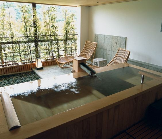 Traditional Japanese Bathroom: The Comforting Designs Of Japanese Sunken Baths